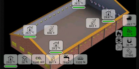 Nieuwe functionaliteiten zorgen voor één all-round systeem voor álle typen pluimveestallen