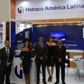Hotraco América Latina booth Mexico 2017