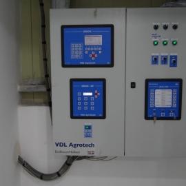 Panel de interruptores con integrados ORION-VS, SIRIUS-DF y ACA-10N Porqueriza en Vietnam